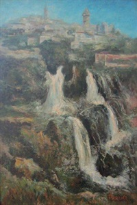 village et cascade by paul verona