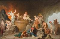 le tonneau des danaïdes by auguste barthelemy glaize