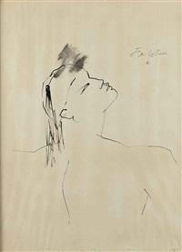 portrait d'homme by jean cocteau