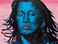 blue face by na hyo-kab