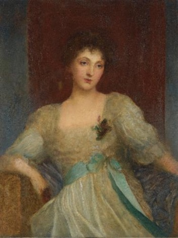 portrait of norah bourke by george frederick watts