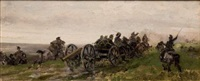 scène de bataille by sebastiano de albertis