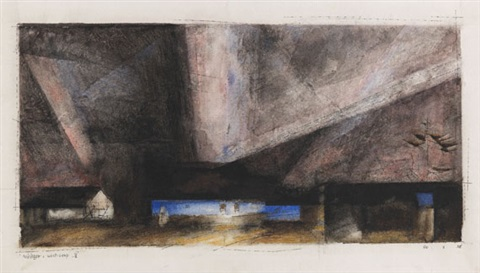 west deep iii by lyonel feininger