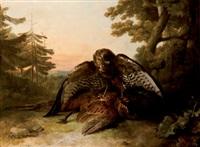 bodegón de caza by reinagle