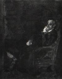 a pensive mood by susan hannah macdowell eakins
