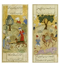 two folios from a persian manuscript by anonymous-persian (15)