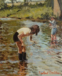 tadpole fishing by rowland davidson