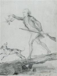 le chasseur et son chien by étienne charles leguay