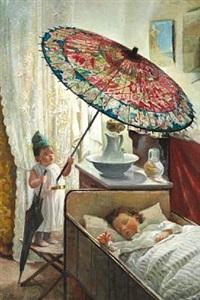 den lille ole med paraplyen, ham kjender alle smaafolk i byen by emilie (caroline e.) mundt