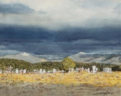 campo santo at truchas by james asher