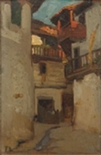 ruelle by charles-frédéric lauth
