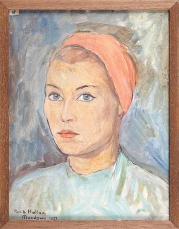 portret haliny by simon françois stanislas mondzain