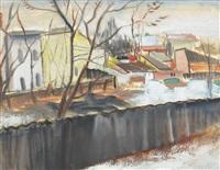 winter in slum by alexandru phoebus