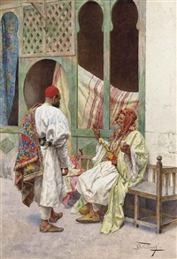 the carpet seller by giulio rosati