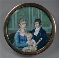 triple portrait de famille by etienne bouchardy