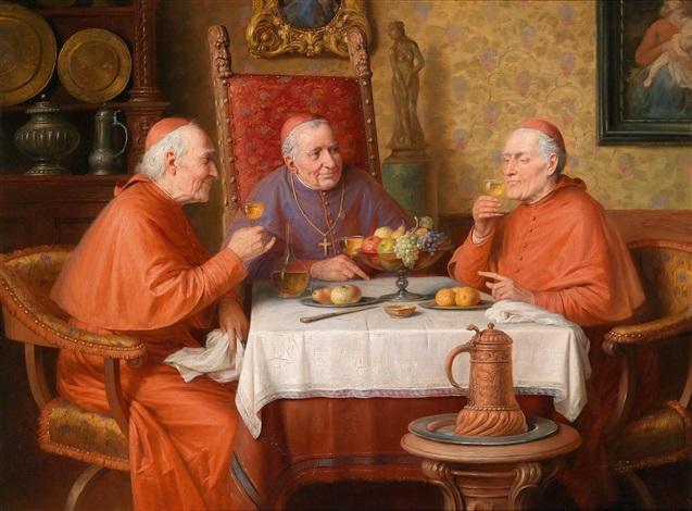 drei kardinäle by josef wagner hohenberg