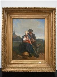 gezin by adolf alexander dillens
