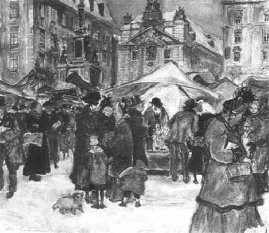 christkindelmarkt freyung by alfred gerstenbrand