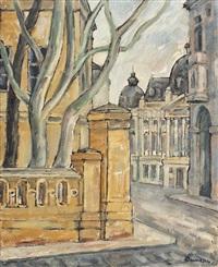 street from bucharest by marius bunescu