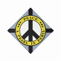peace: a pearl in peril by robert indiana