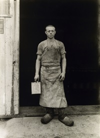 lackierer (refinisher), köln by august sander