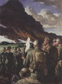 surrender of german troops by frank s. bensing