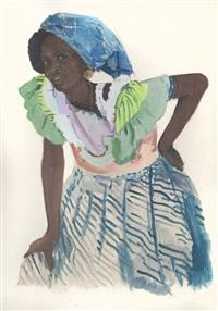 beauté africaine by jacques majorelle