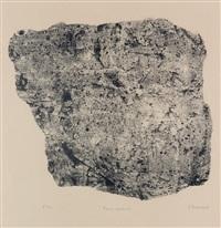 pierre vagabonde by jean dubuffet