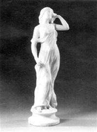 a pensive nymph by benoît-hercule hercule