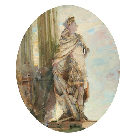 statue at versailles by walter gay
