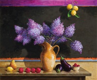 rothko's lilacs by jenness cortez