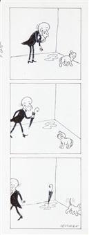 filutek, ilustracja do czasopisma przekrój nr 27 (nr 2715) by zbigniew lengren