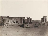 temple de debot en nubie by wilhelm hammerschmidt
