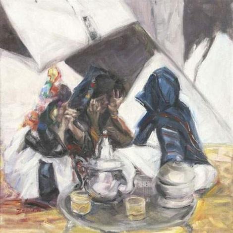 lheure du thé by ahmed zabbita