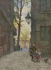 parks place, knightsbridge, london by rose maynard barton