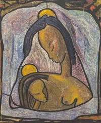 mother and child by angel botello