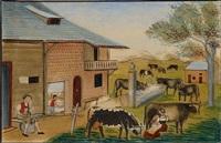 der bauernstand (bäuerliche arbeiten rund um den bauernhof) by anna barbara aemisegger-giezendanner