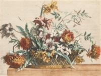 kosz kwiatów by jean-baptise poilly