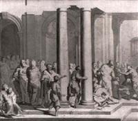 le christ guerissant les malades by jean-baptiste corneille