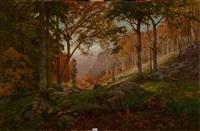 rochers en forêt by antonio ros y guell