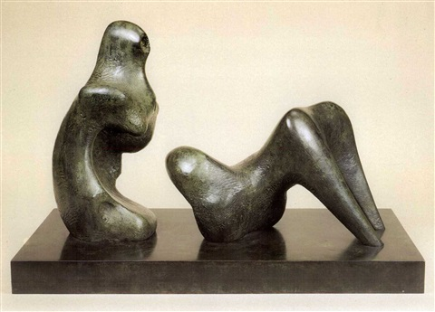 two piece reclining figure armless by henry moore & Two piece reclining figure armless by Henry Moore on artnet islam-shia.org