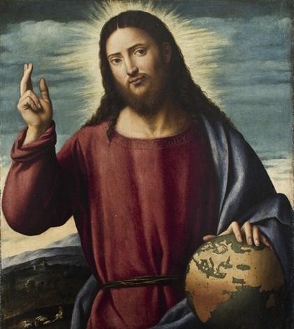 cristo redentore by bernardino licinio