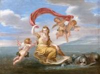 le triomphe d'amphitrite by charles alphonse dufresnoy