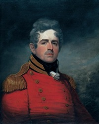 portrait of lt. col. francis battersby c.b. by robert field