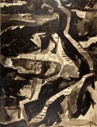 top down view of sifnos by panayiotis tetsis