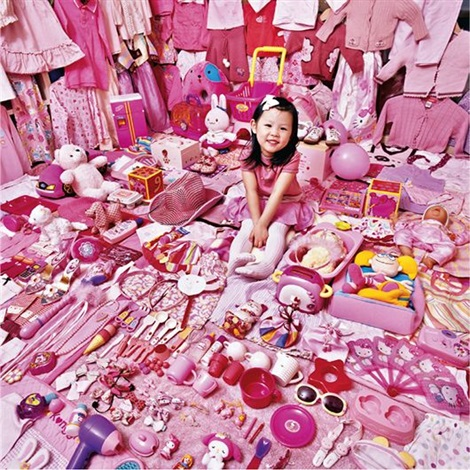 seohyun and her pink things from the pink project by yoon jeongmee