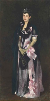 mrs. richard h. derby by john singer sargent