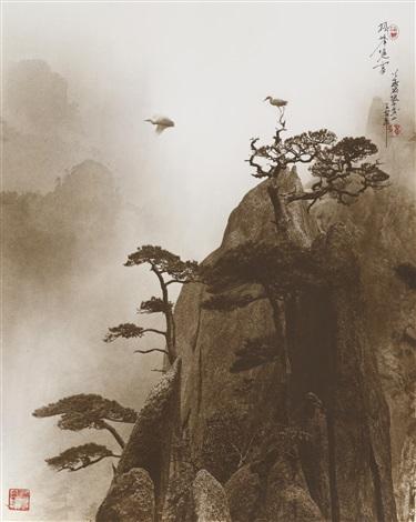 pine peak, yellow mountain by don hong-oai