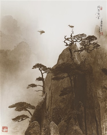 pine peak yellow mountain by don hong oai