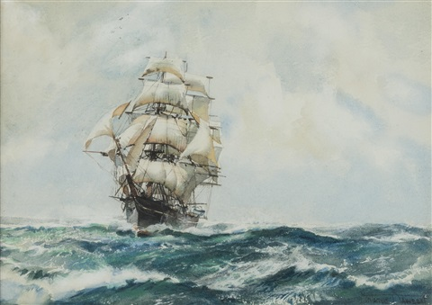queen of clippers by montague dawson